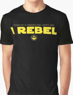 Star Wars : Rogue One - I Rebel - Yellow Clean Graphic T-Shirt