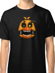 Adventure Nightmare Chica - FNAF World - Pixel Art Classic T-Shirt