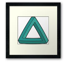 Impossible Triangle Framed Print