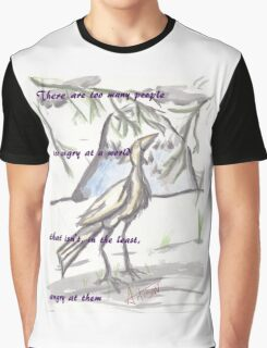 Crane Quote Graphic T-Shirt