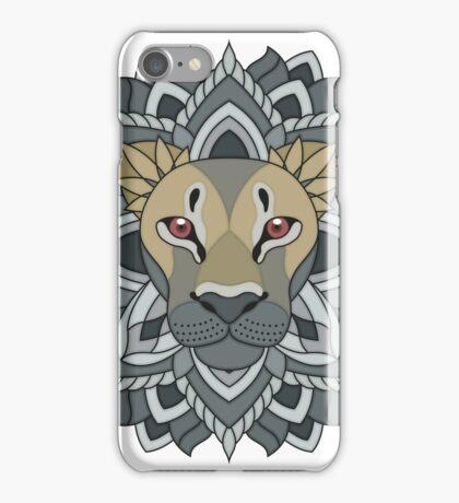 Mandala Lion iPhone Case/Skin