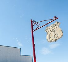 Route 66 New Mexico rustic hanging sign by brians101