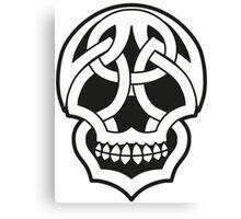 Tribal Skull Canvas Print