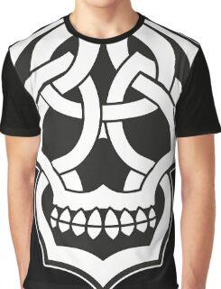 Tribal Skull Graphic T-Shirt