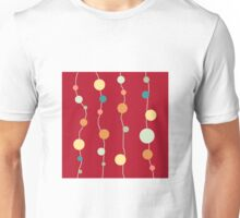 Circles on Strings Abstract Unisex T-Shirt