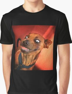 Dogs with game face on .15 Graphic T-Shirt