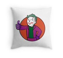 Joke Boy Throw Pillow