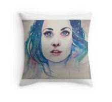 Insomniac dreamer Throw Pillow