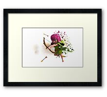 painted archer Framed Print