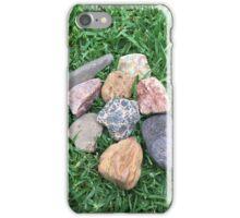 Grass rocks iPhone Case/Skin