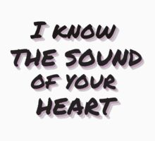 Sound of your heart Kids Tee