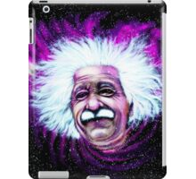Albert Einstein Space iPad Case/Skin