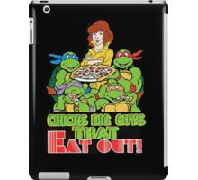 Chicks Dig Guys That Eat Out iPad Case/Skin