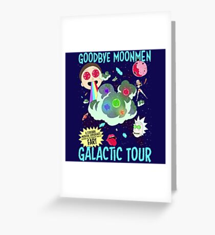 Goodbye Moonmen Galactic tour Rick Collage Greeting Card