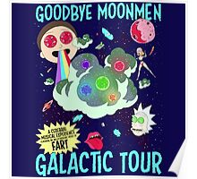 Goodbye Moonmen Galactic tour Rick Collage Poster