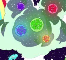 Goodbye Moonmen Galactic tour Rick Collage Sticker