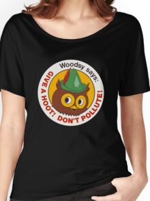 Give a Hoot!  Women's Relaxed Fit T-Shirt