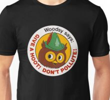 Give a Hoot!  Unisex T-Shirt