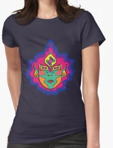 Psychedelic 3rd Eye Womens Fitted T-Shirt