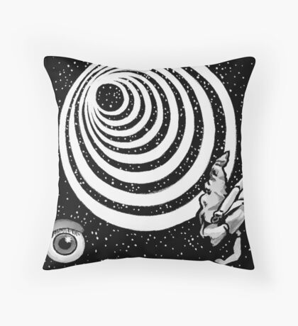 Twilight Zone Eye Throw Pillow