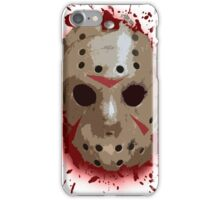 FRIDAY THE 13TH - Bloody Mask iPhone Case/Skin