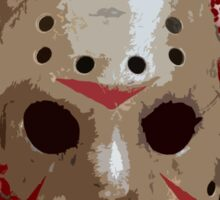 FRIDAY THE 13TH - Bloody Mask Sticker