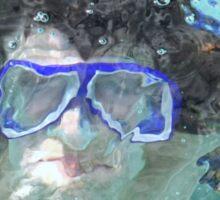 Face Under Water Sticker