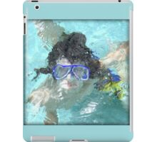Face Under Water iPad Case/Skin