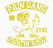 Pain Gang Fightin Irish One Piece - Short Sleeve