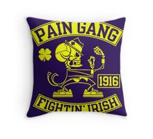 Pain Gang Fightin Irish Throw Pillow