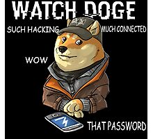 Watch Doge Photographic Print