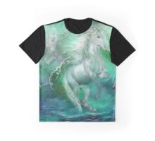 Unicorns Of The Sea Graphic T-Shirt