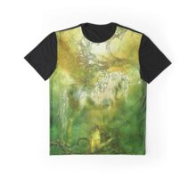 Unicorn Of The Forest Graphic T-Shirt