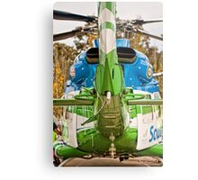 Helicopter (1) Metal Print