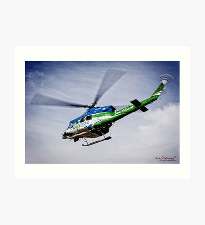 Helicopter (2) Art Print