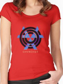 CHVRCHES T-Shirt / Phone case / Mug Women's Fitted Scoop T-Shirt