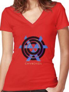CHVRCHES T-Shirt / Phone case / Mug Women's Fitted V-Neck T-Shirt