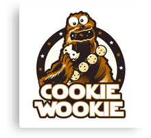 Wookie Cookie Parody Canvas Print