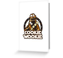 Wookie Cookie Parody Greeting Card