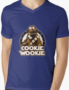 Wookie Cookie Parody Mens V-Neck T-Shirt