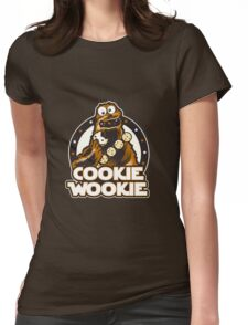 Wookie Cookie Parody Womens Fitted T-Shirt