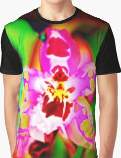 4425 Psychedelic Orchid Graphic T-Shirt
