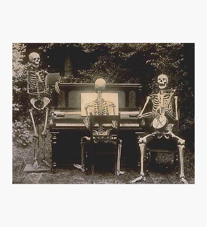 Victorian Skeletal Vignette Photographic Print