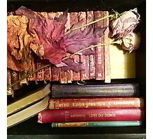 Vintage and Antique Book Still Life Photographic Print