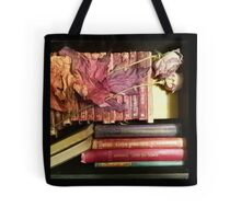 Vintage and Antique Book Still Life Tote Bag