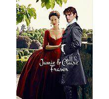 Outlander/Jamie & Claire Fraser Photographic Print