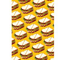 Ham Sandwich Pattern Photographic Print