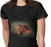 The Wind Of Heaven - Horse Art Womens Fitted T-Shirt