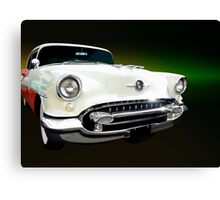 1955 Oldsmobile Holiday Coupe Canvas Print