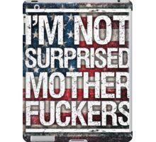 Diaz Quote on USA Flag iPad Case/Skin